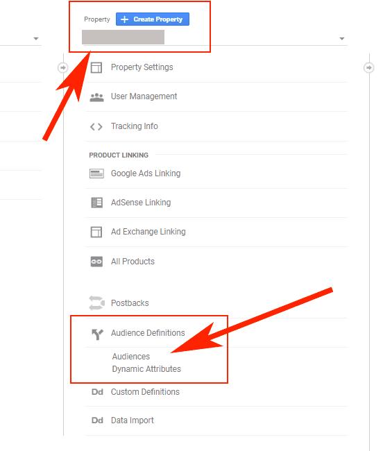 Hướng dẫn Cài đặt Google Dynamic Remarketing 16 - Audiences