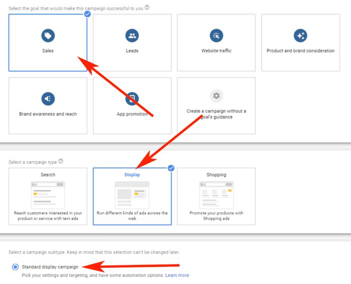 Hướng dẫn Cài đặt Google Dynamic Remarketing 19 - Campaign setup