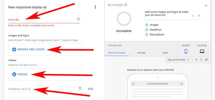 Hướng dẫn Cài đặt Google Dynamic Remarketing 27 - Continue campaign setup