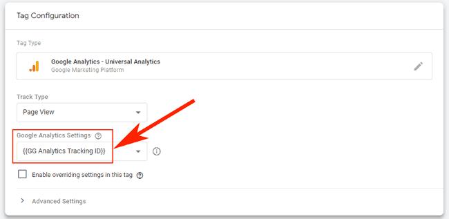 Hướng dẫn sử dụng Google Tag Manager (GTM) 27 - Google Analytics variable