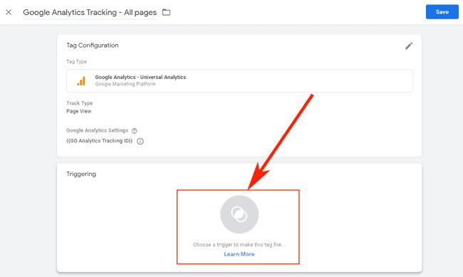 Hướng dẫn sử dụng Google Tag Manager (GTM) 28 - Create Trigger