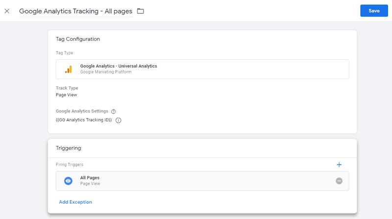 Hướng dẫn sử dụng Google Tag Manager (GTM) 30 - GTM GA tag
