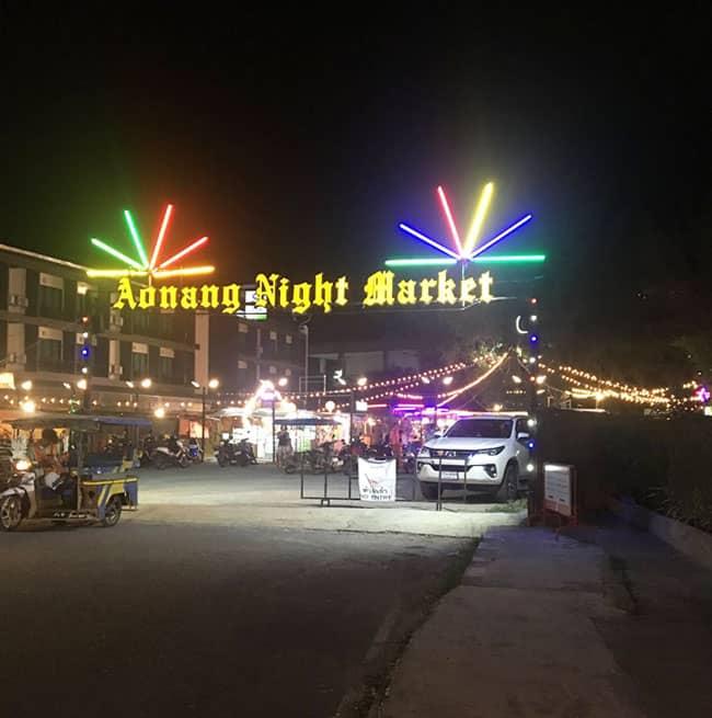 Chợ đêm Ao Nang