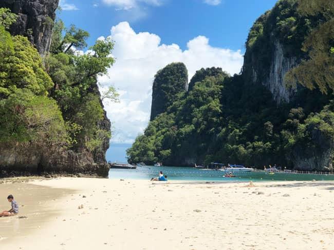 Chia sẻ kinh nghiệm du lịch bụi Thái Lan Krabi - Hong Island